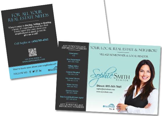 Real Estate Postcards Real Estate Agent Postcards