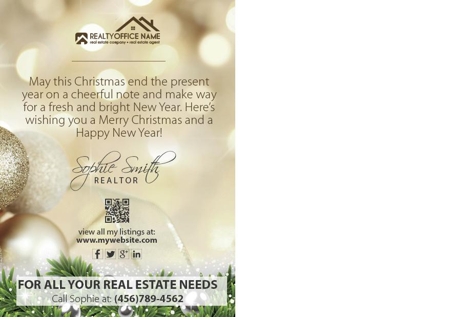 Real Estate Holiday Spring Season Postcard Real Estate