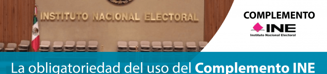 Facturación Electronica con el Complemento INE