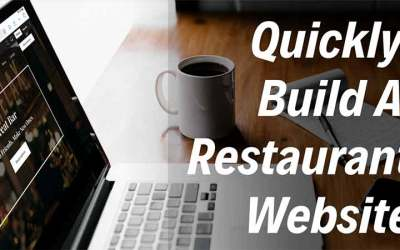 How to easily build a restaurant website.