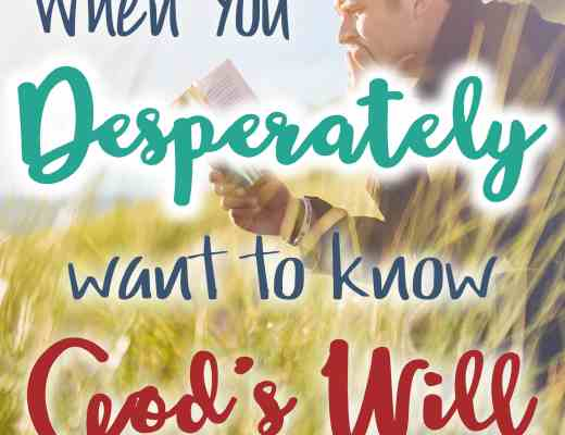 How to find God's will through your life - one thing I did to discover His will.