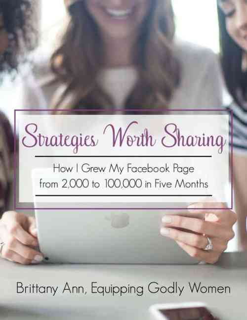 Strategies worth sharing - How I grew my Facebokk page from 2,000 to 100,000 in five months