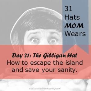 Day 21 Gilligan hat