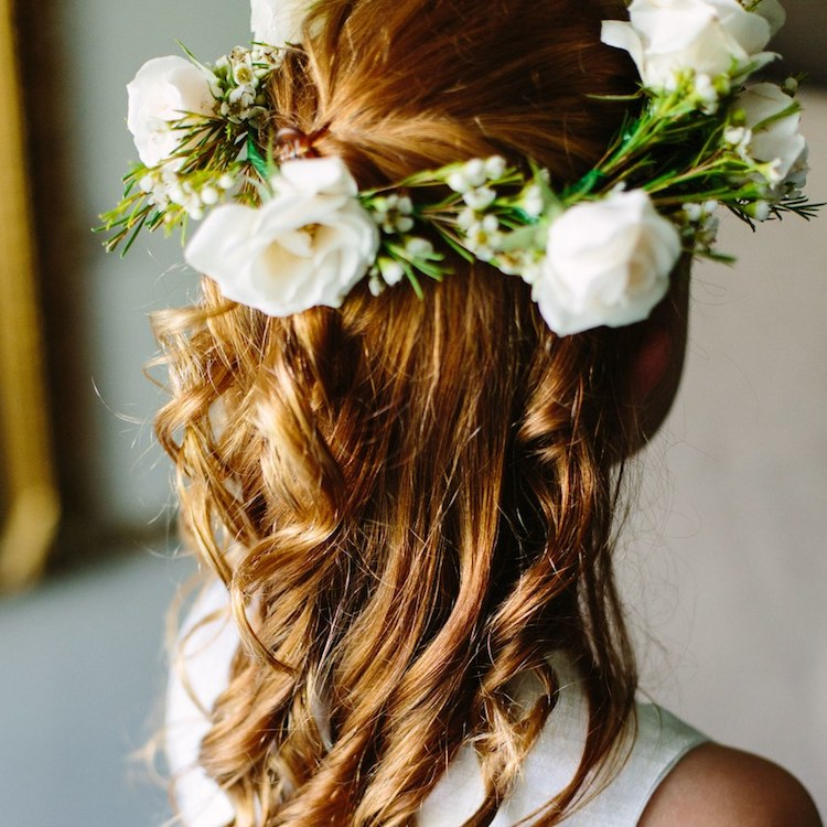 Bridesmaid flower crowns