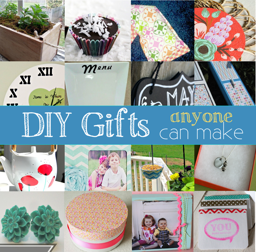 Homemade Gift Ideas: Handmade Gift Ideas Anyone Can Make