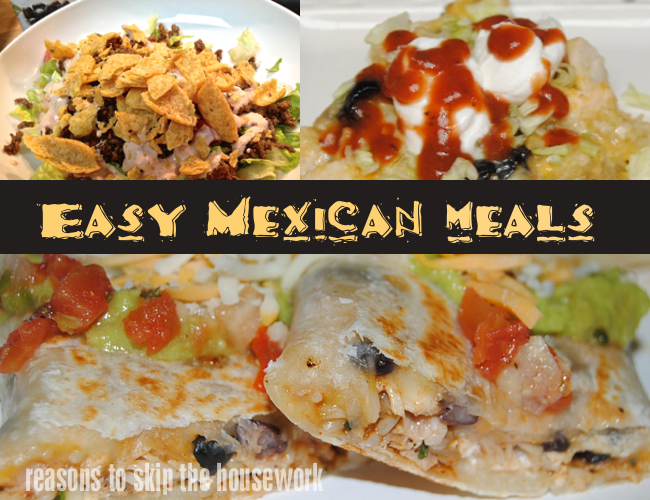 mexican meals