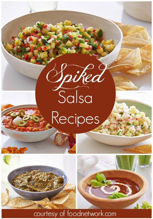 spiked salsa recipes