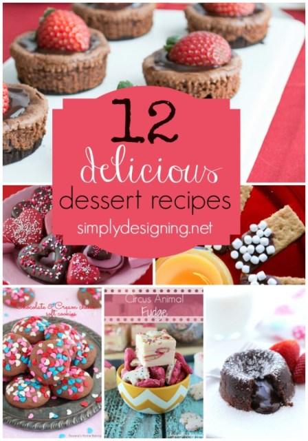 12 Delicious Dessert Recipes | #dessert #recipes