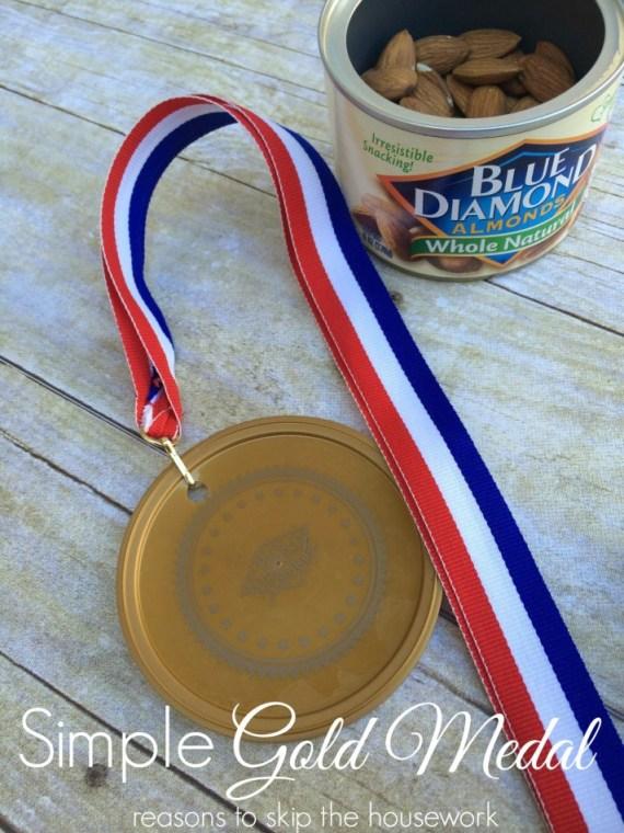 diy gold medal
