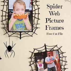 Spider Web Frame, free cut file