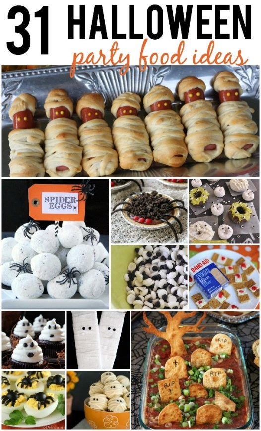Halloween Party Food Ideas That Are Gross Creepy And Fun
