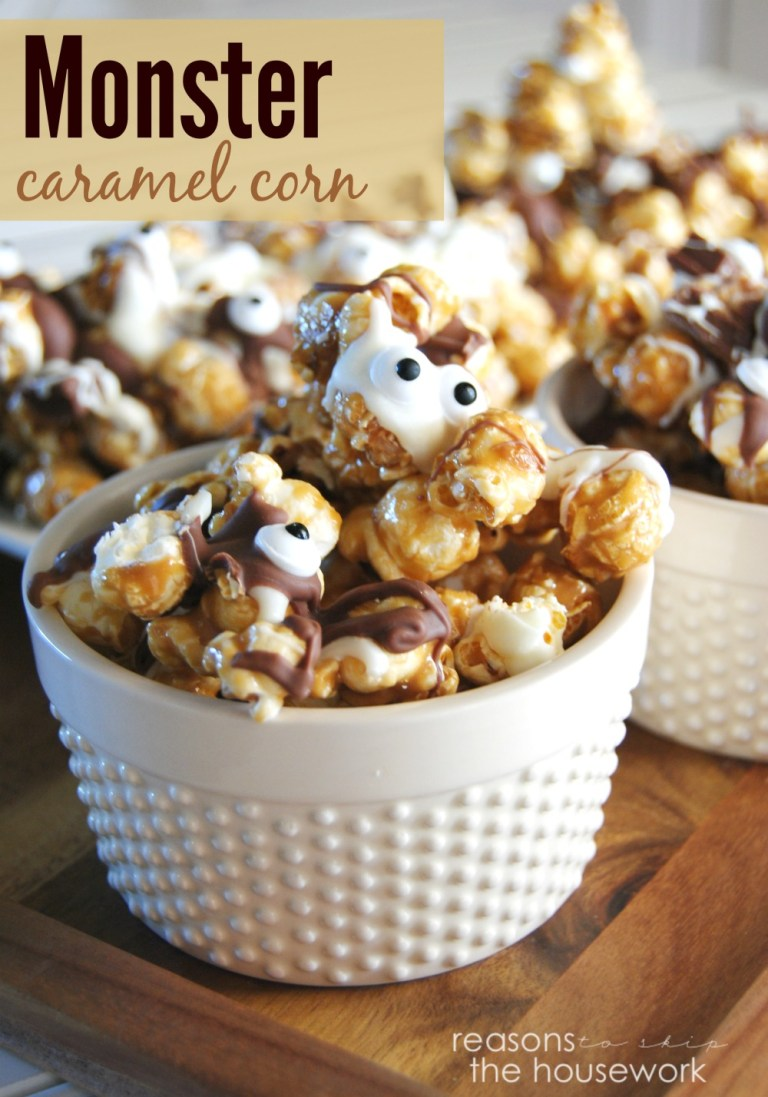 monster caramel corn