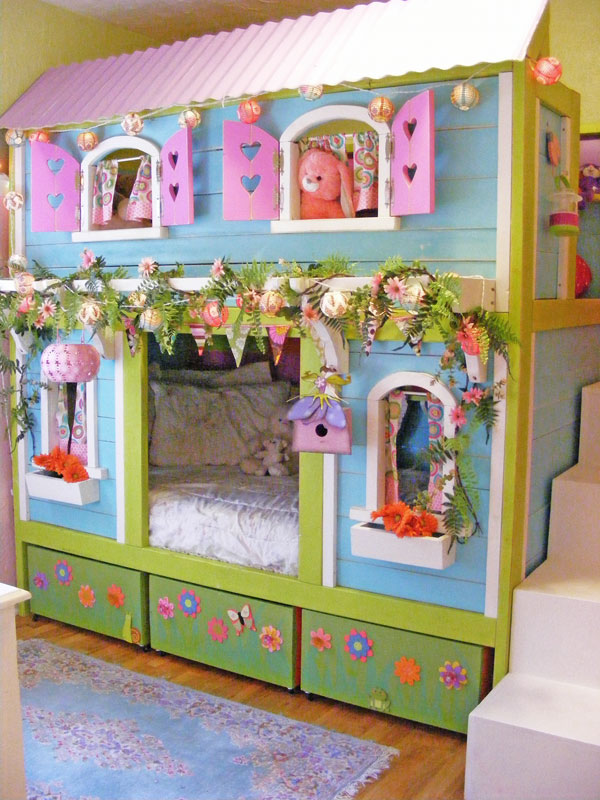 Perfect Sweet Pea Bunk Bed triple bunk beds