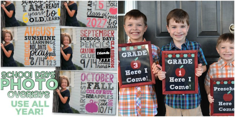 back to school photo props