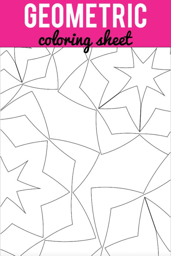 geometric-coloring-sheet