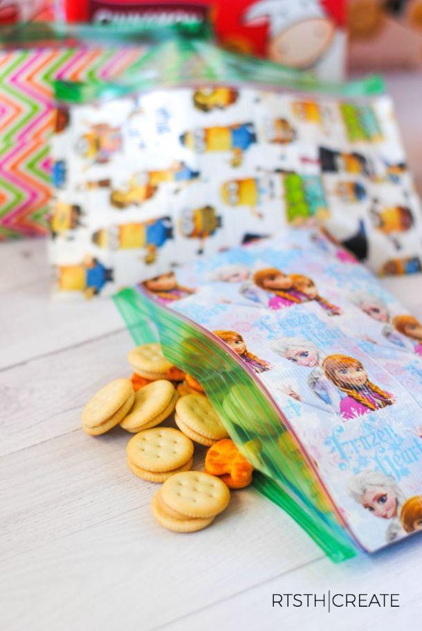 custom snack baggies