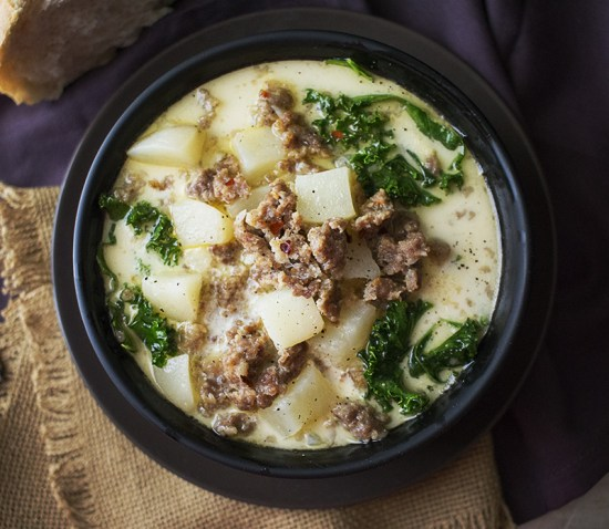 Crock Pot Recipes - Zuppa Toscana
