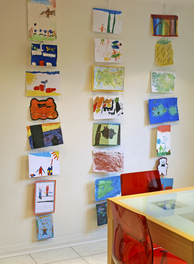 Ways To Display Kids Art REASONS TO SKIP THE HOUSEWORK