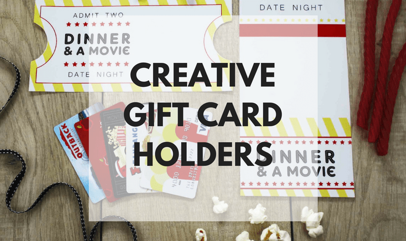 25 Creative Gift Card Holders - REASONS TO SKIP THE HOUSEWORK