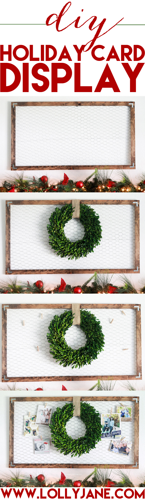 25 Holiday Card Displays