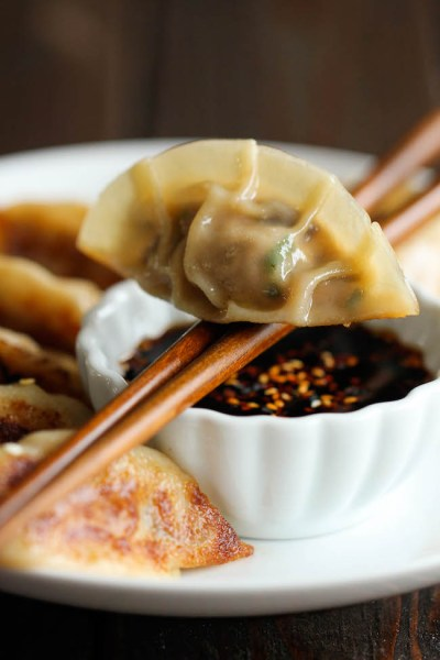 Pot Stickers: When you head out to your parties, make sure you have some great Christmas Party Food with you!