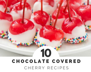 Chocolate Covered Cherries that are perfect for holidays or special treats - they're easier to make than you'd think!