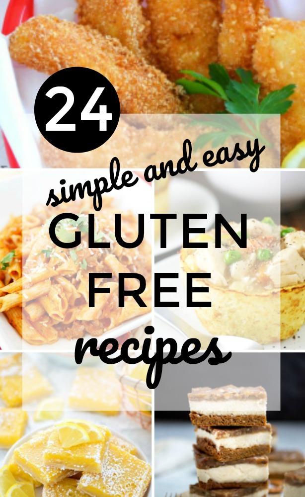 24 Gluten Free Recipes