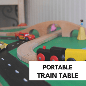 Portable Train Table