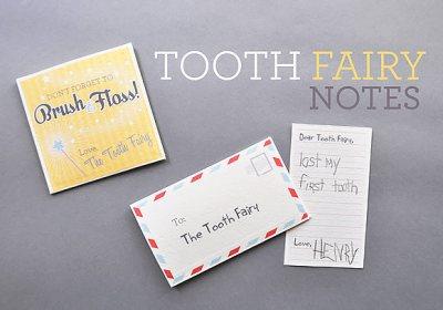 http://www.handmadecharlotte.com/free-printable-tooth-fairy-notes/