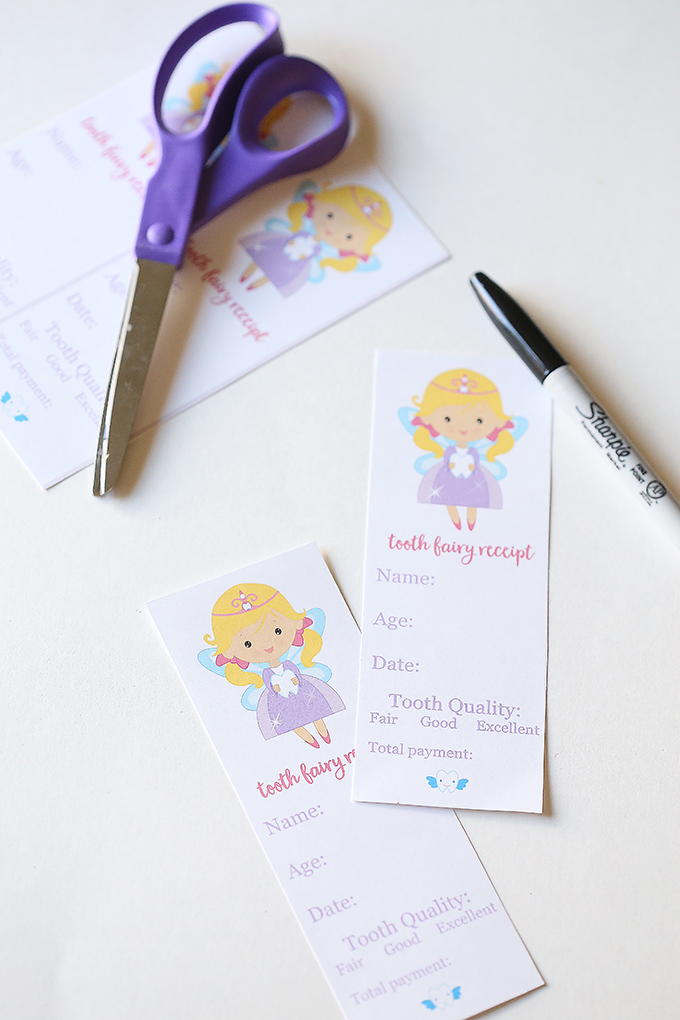 photograph about Tooth Fairy Notes Printable referred to as Teeth Fairy Printables