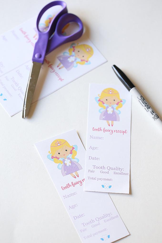 photo regarding Tooth Fairy Printable Letter named Teeth Fairy Printables