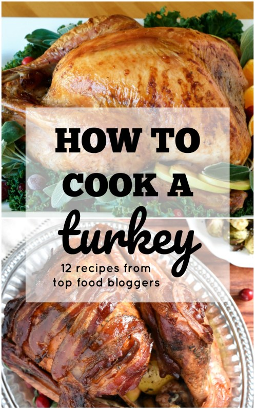 Cooking the perfect turkey for Thanksgiving can cause a ton of unnecessary stress. Learning how to cook a turkey doesn't have to becomplicated. Get the best turkey recipes from Top Food bloggers here.