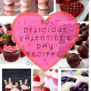 30 Delicious Valentine's Day Recipes