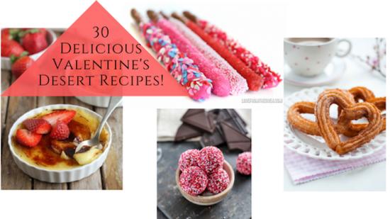 End cap 30 Delicious Valentines Day Recipes