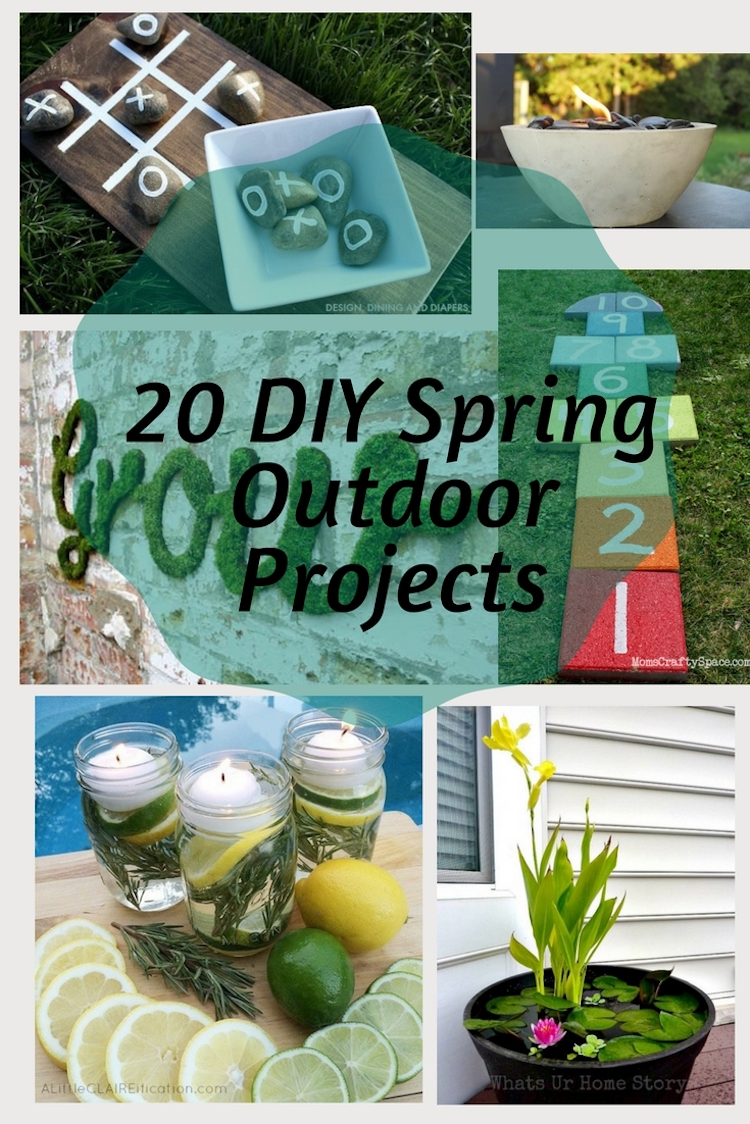 20 Diy Spring Outdoor Projects