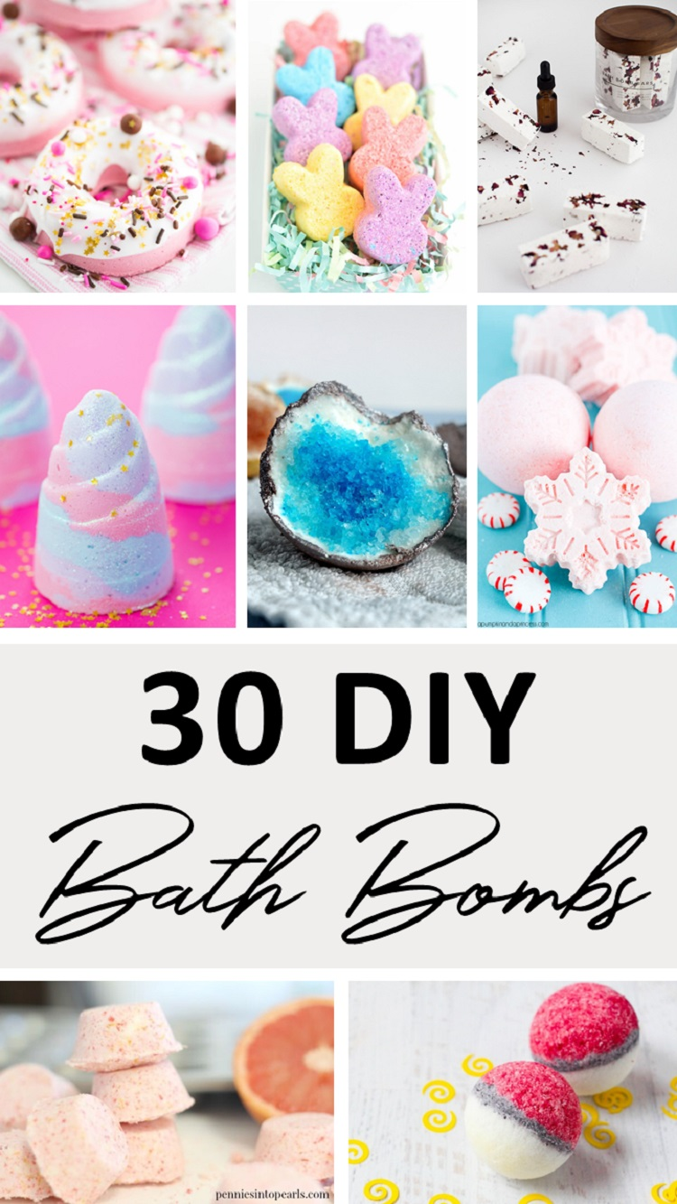 30 diy bath bombs to take bath time to a whole new level bath bombs arent just fun to watch as they fizzle away they also serve a myriad of benefits for your skin too especially when theyre made using solutioingenieria Gallery