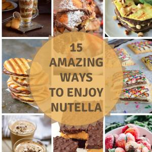 15 Amazing Ways To Enjoy Nutella