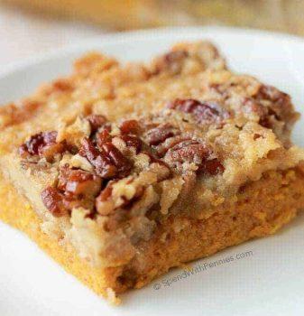 pumpin pie crunch cake
