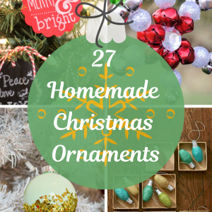 27 Homemade Christmas Ornaments