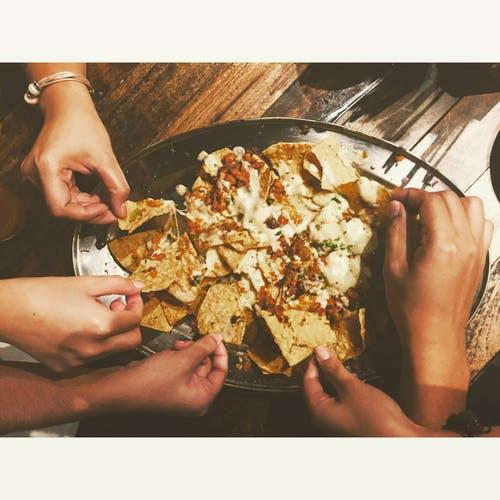 shrimp and jalapeno nachos
