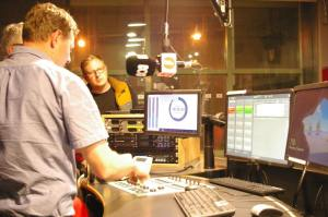Inside One of the Radio Suites