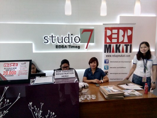 In line with REBAP Unified Accreditation System UAS, Filinvest conducted Brokers Orientation Program for REBAP members in North of MetroManila last July 23, 2016. Site Orientation at Studio 7 along GMA 7 EDSA, Bali Oasis along Marcos Highway Marikina and The Signature at A, Bonifacio Quezon City.