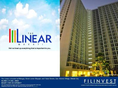Licensed Real Estate Brokers attended Pizza & Beer Night at The Linear Makati last May 5, 2017 hosted by Filinvest.
