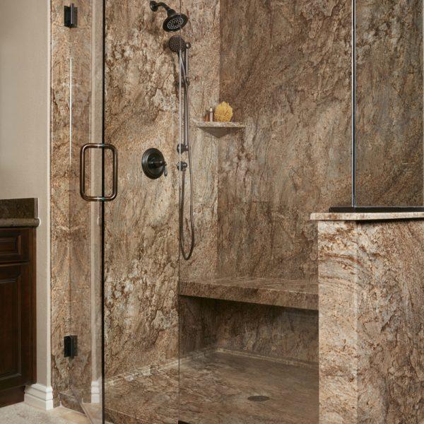 Tahoe Acrylic Granite Bathroom Wall Surround Re Bath