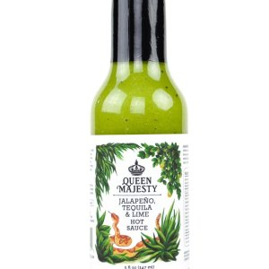 Queen Majesty Jalapeno Tequila Lime Hot Sauce