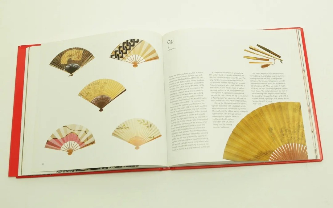Book on Japanese Fans