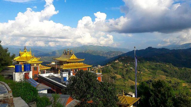 Namobuddha walk, Kathmandu Valley