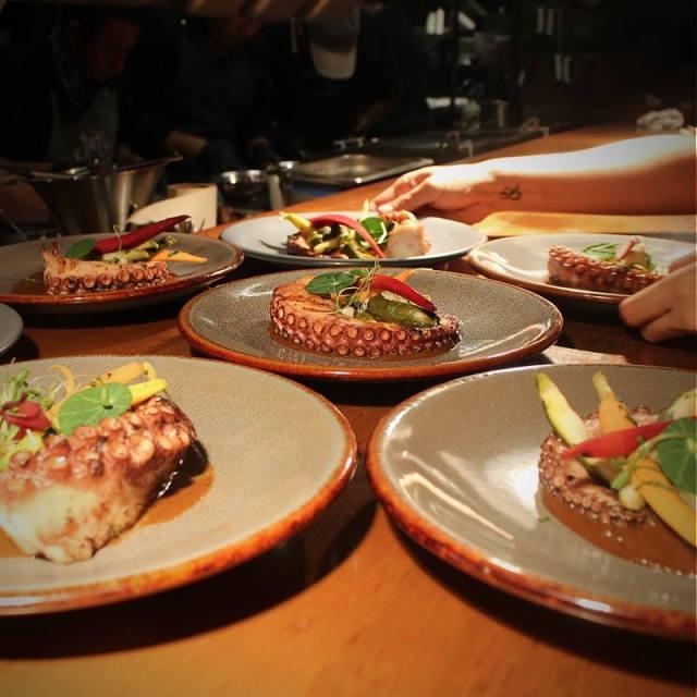 Sumptuous seafood served fresh at Micaela Mar y Leña, Yucatan