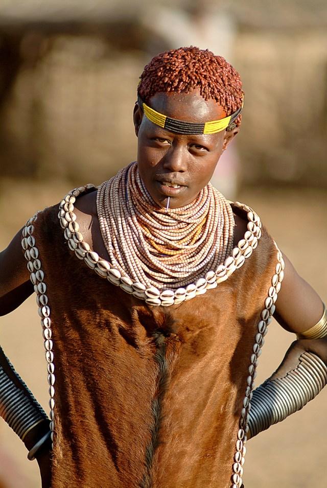 Dassanesh tribe, Omo Valley, Ethiopia