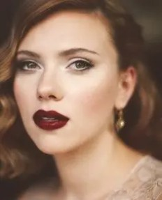 2015 Wedding Trends - Deep red statement lipstick from Rebecca Loves Weddings www.rebeccaanderton.co.uk